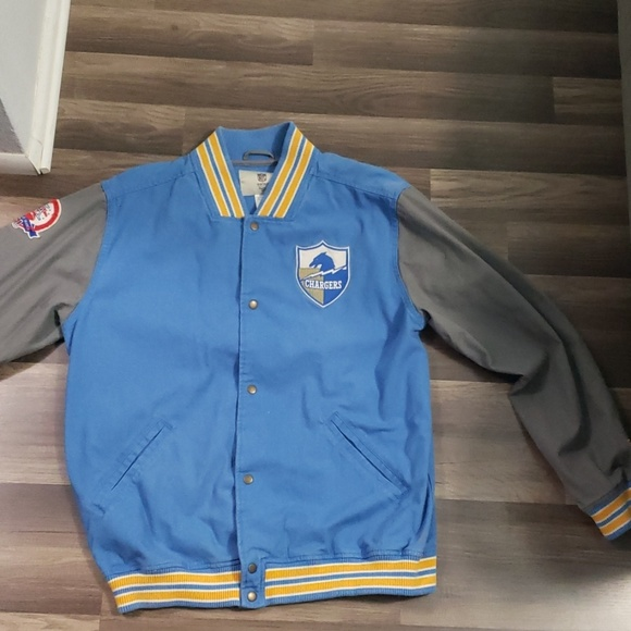 the best attitude bc072 ba7b5 ⚡ Vintage San Diego Chargers XL jacket Los Angeles